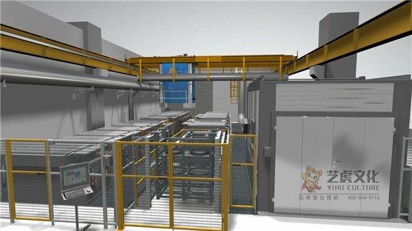 三维机械工艺流程设备演示动画-化学清洗线[00_01_08][20210220-142437]
