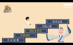 中医学古装风格动画视频