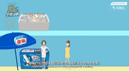 雀巢产品宣传片动画