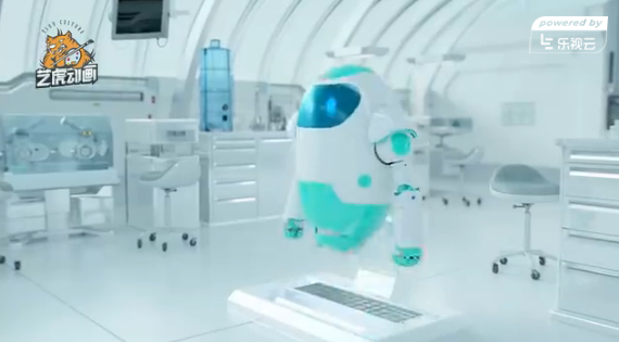 互联网智能科技工业三维动画