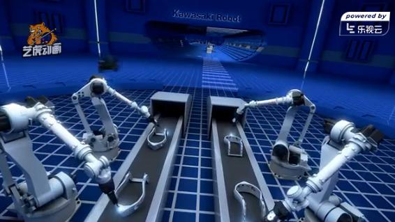 三维工业动画