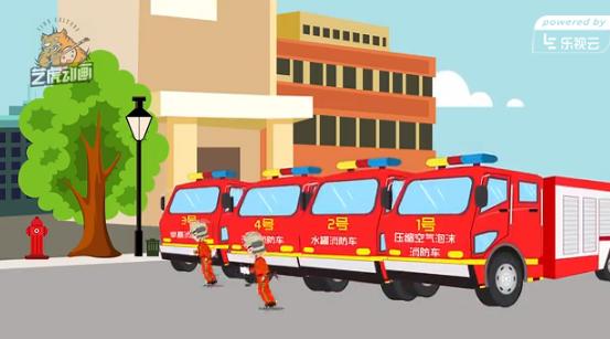 高层消防公益宣传动画