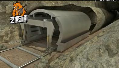 隧道施工工程三维动画