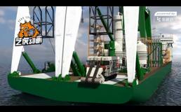 大型海底矿产开发工程动画