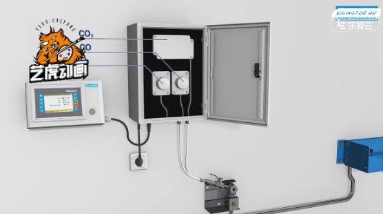 三维天然气系统原理展示动画