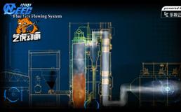 锅炉安装工艺流程三维动画视频