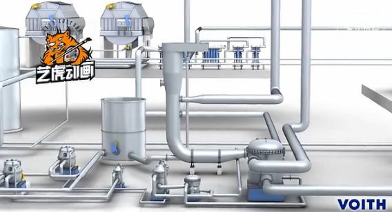 加药系统机械产品三维动画演示