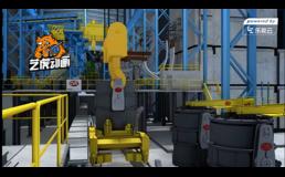 炼钢过程原理三维演示动画