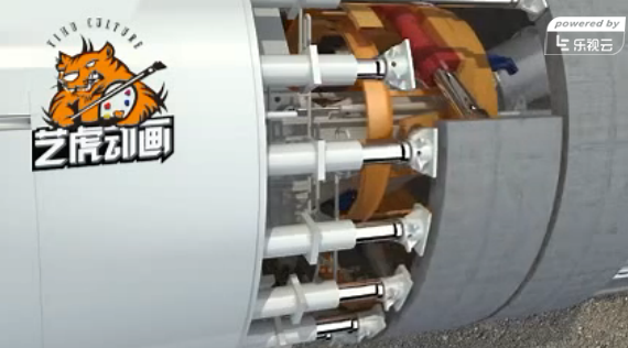钻孔灌注施工三维动画视频