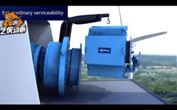 机械设备动画制作风力发电设备