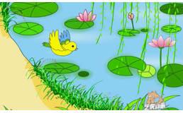 幼儿园卡通风格flash动画课件视频