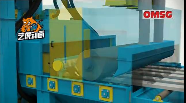 工业生产三维动画通过CG动画技术制作