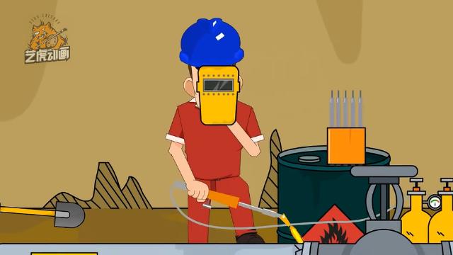 安全生产flash宣传演示动画