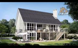 房子构造-施工建筑动画