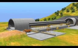 隧道工程-施工3D演示动画