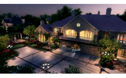 独栋别墅-建筑动画宣传片