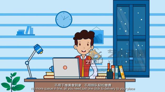 餐饮平台宣传-APP动画视频